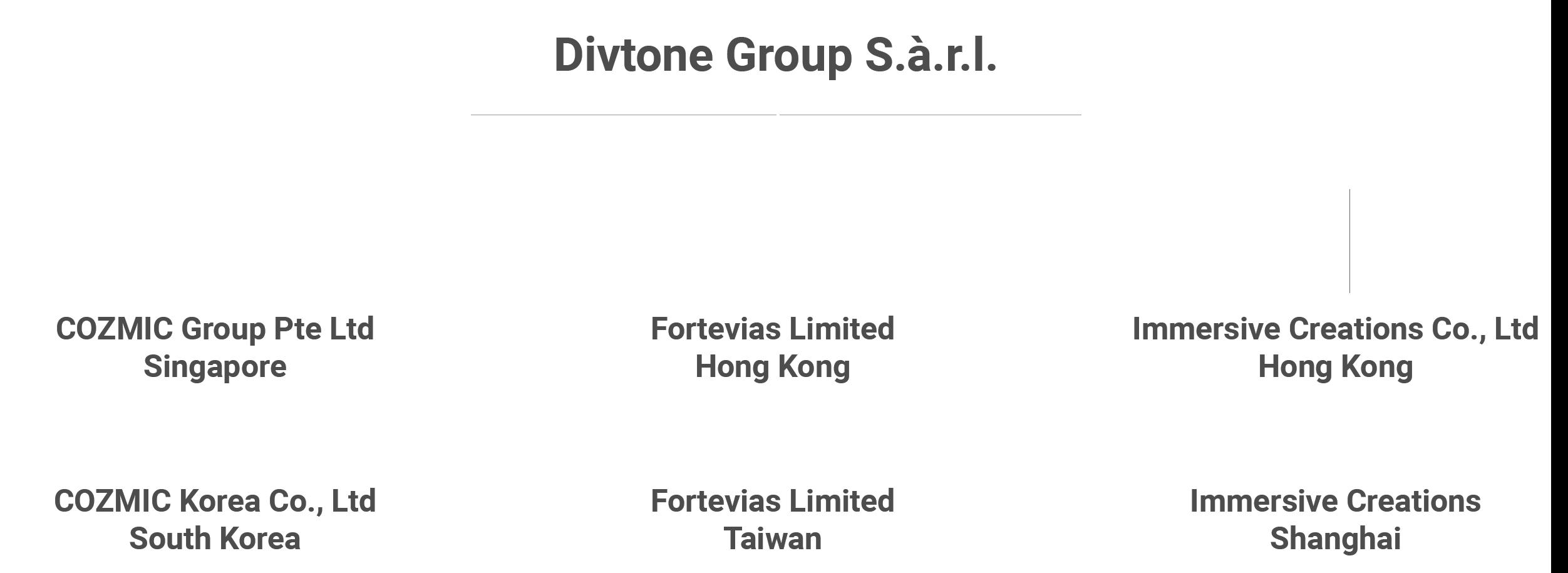 Divtone Structure